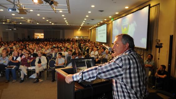 LANFRANCONI. El experto del Inta Río Primero volverá a disertar en una Agrojornada. (LA VOZ)