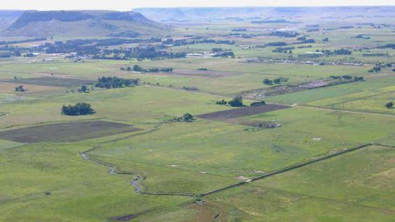 ESCALA. El mapa desarrollado por el Idecor y el Conicet permite conocer el porcentaje de materia orgánica en cuadrículas de hasta 500 metros por lado. (LA VOZ/Archivo)