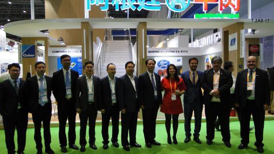CONVENIOS. Argentina y China firmaron nuevos convenidos comerciales para aumentar los envíos hacia el país asiático. (IPCVA)