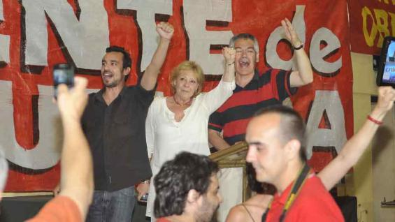 LILIANA OLIVERO. Festejan en el FIT(La Voz).