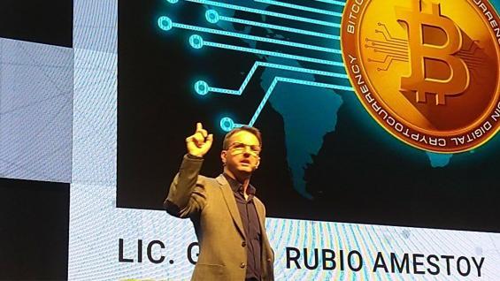 """INVULNERABLE. Para Rubio, el """"blockchain"""" trae seguridad absoluta. (Bolsa de Cereales de Córdoba)"""