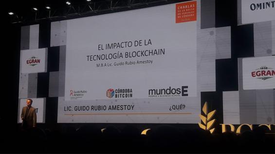 DISERTANTE. El experto en blockchain dijo que el agro es uno de los sectores que más puede crecer en el uso de esta tecnología. (Agrovoz)