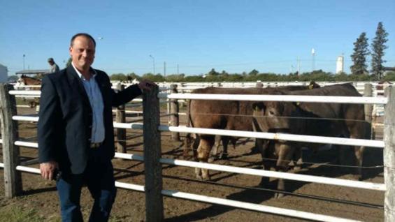 ROTONDO. El titular de la Rural de Río Cuarto será el nuevo presidente de Cartez, al menos hasta septiembre del año próximo.