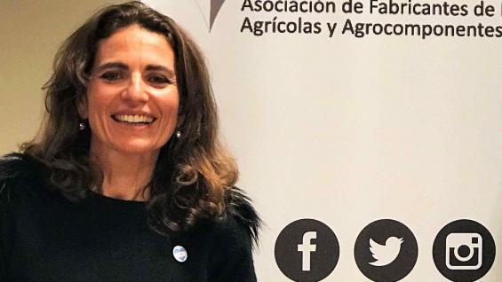 VICEPRESIDENTA. Luciana Mengo acompañará a Zaragosí en la conducción de Afamac. (Gentileza Afamac)