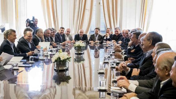 Macri se reunió con más de 20 representantes de la cadena de ganados y carnes.
