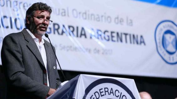 Omar Príncipe, presidente de Federación Agraria