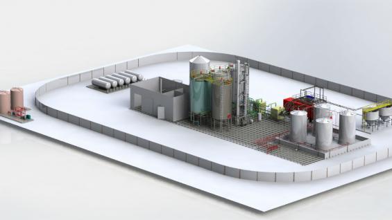Las plantas modulares para molienda de maíz fabricadas por Porta
