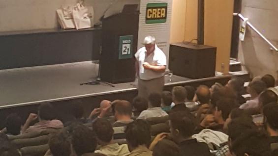 Sandro Raspo explicó a los productores de Córdoba su experiencia en cultivos de cobertura