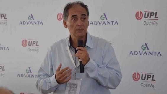 """AUTORIDAD. Rodrígo Ramírez, encargado del negocio de """"la nueva UPL"""" para Argentina. (Prensa UPL)"""