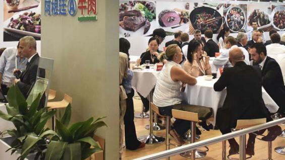 Frigoríficos exportadores de Argentina participan de la Sial en China. (IPCVA)