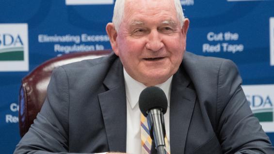 RECLAMO. Sonny Perdue, secretario de Agricultura de Estados Unidos, recibió la preocupación de productores argentinos por la demora en la importación de carne argentina (Foto AgriPulse)
