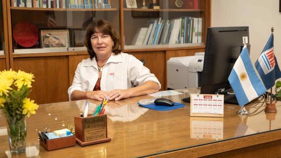 MIRASSOU. La presidenta del Inta, en su nuevo despacho. (Inta Informa)
