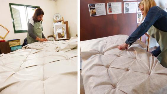 Un taller para aprender tapicer a capiton la voz - Talleres de tapiceria ...