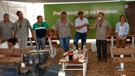 LANZAMIENTO. Aapresid presentó el programa en Expoagro (Agrovoz)