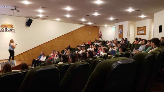 ENCUENTRO. Agroempresa Colón reunión a emprendedoras. (Gentileza Agroempresa)