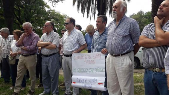 EN EL NORTE. Productores de Tucumán hicieron una asamblea este lunes.