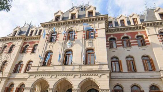 La fachada del Ministerio.