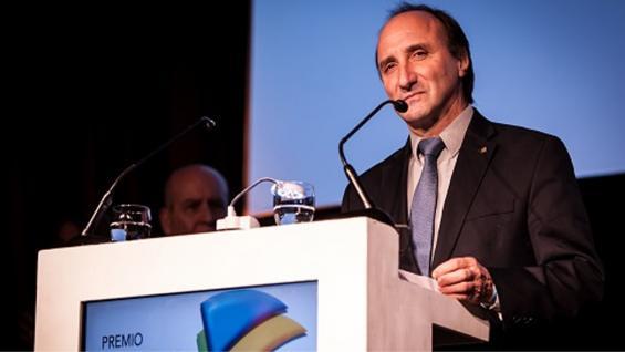 AUTORIDAD. Aníbal Pordomingo, uno de los que ayudó a diseñar el proyecto que se llevó el Cita de Oro. (Inta Informa)