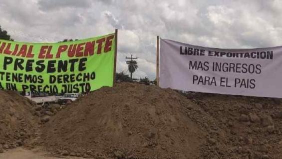 RECLAMO. Los sojeros piden que se elimine la banda de precios impuesta por el Gobierno. (Diario Página Siete)