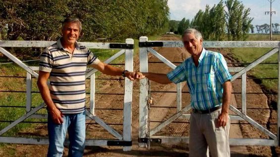 TAMBEROS. Daniel Oberto y Juan Peluso. (Gentileza Maximiliano Constantino)