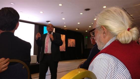 DI STEFANO. El analista cerró la jornada Córdoba Ganadera (Agrovoz)