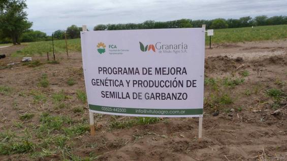 MEJORAMIENTO. El programa es desarrollado por la FCA-UNC junto a Vitulo Agro SA.