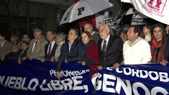 Estuvieron Alejandra Vigo, encargada de la Secretaría de Equidad y Promoción del Empleo, el vicegobernador de la Provincia, Martín Llaryora y el ministro de Justicia y Derechos Humanos, Luis Angulo. (Gobierno de Córdoba).