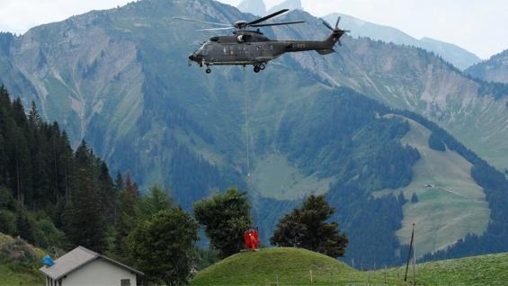 SEQUÍA. La falta de agua en Suiza es la mayor en 97 años y afecta la producción agropecuaria. (Reuters)