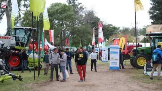 MAQUINARIA. La exhibición estática de equipos forrajeros también serán parte de la jornada nacional. (Inta Manfredi)
