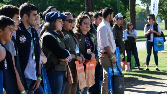 REUNIÓN. Durante tres días, los jóvenes ruralistas debatieron sobre innovación y participación política, entre otros ejes abordados en la Rural de Jesús María. (Gentileza Inés Pagnutti)