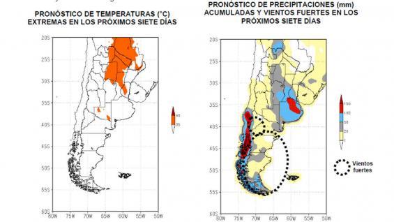 Emiten alerta meteorológico para el sur de Santiago del Estero