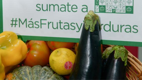 MÁS FRUTAS Y VERDURAS. El consumo debería triplicarse para alcanzar los niveles óptimos para la salud (Ministerio de Agroindustria)