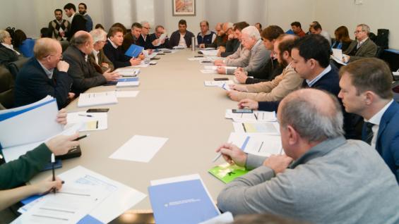 MESA LECHERA. La próxima reunión tendrá la presencia de Mauricio Macri. (Ministerio de Agroindustria)