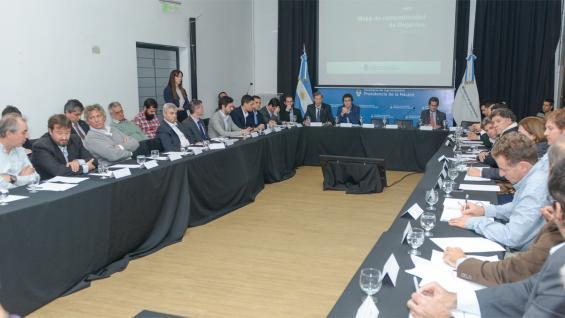 RIEGO. Primera reunión de la Mesa de Competitividad (Prensa Agroindustria)
