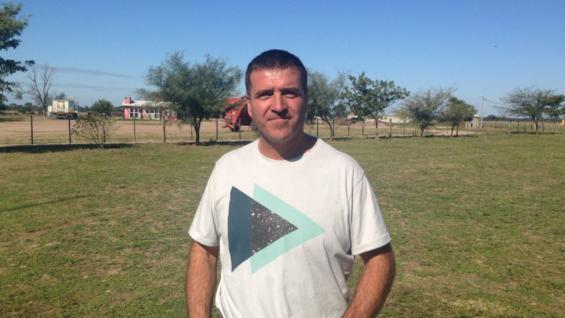 Gustavo Ramos, productor ovino de Villa de María de Río Seco. (Prensa Sociedad Rural de Jesús María)