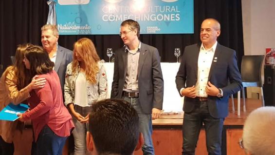 ENTREGA. La encabezó el ministro de Agricultura y Ganadería de Córdoba, Sergio Busso. (Secretaría de Agroindustria de la Nación)