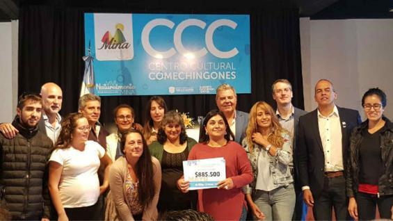 BENEFICIARIOS. Siete familias de Mina Clavero, Salsacate y Las Rosas. (Ministerio de Agricultura de Córdoba)