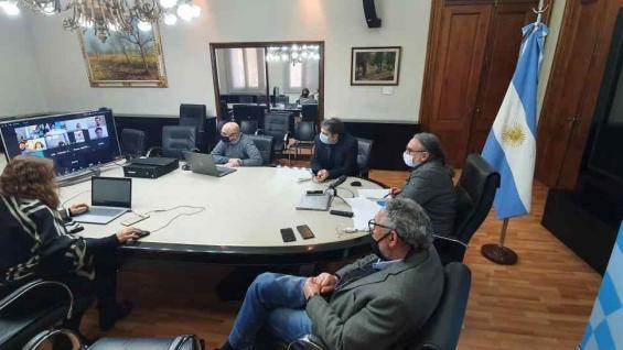 REUNIÓN. Basterra convocó de urgencia al Consejo Federal Agropecuario. (Ministerio de Agricultura)
