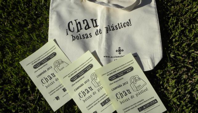 Folletos de la Campaña ¡Chau Bolsas de Plástico!