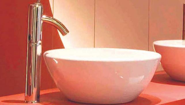 Bachas para baños: líneas limpias  La Voz del Interior