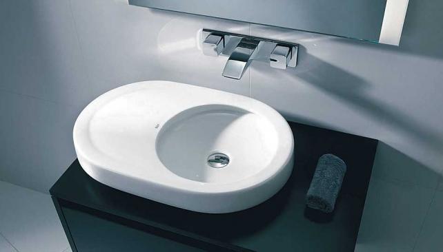 Bachas De Loza Para Baño:Bachas para baños: líneas limpias