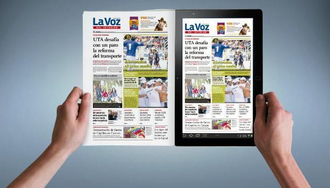 Igual que en el papel, el diario se puede disfrutar en todas las pantallas.