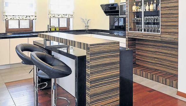 Bar en casa barra caf y amigos la voz del interior - Barra de bar en casa ...