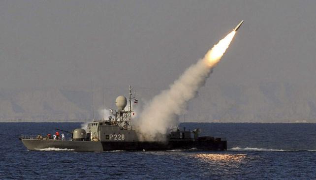 Escalada. La prueba de misiles y otras medidas iraníes han hecho crecer la tensión en el Golfo Pérsico (AP).