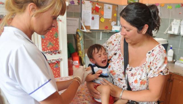 Desde hoy. La vacuna antineumocóccica ingresó al calendario (Martín Santander/La Voz).