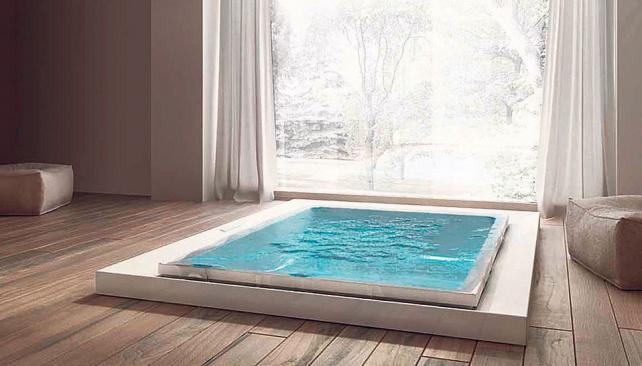 Baño Jacuzzi Medidas:Duchas y bañeras, para un buen momento
