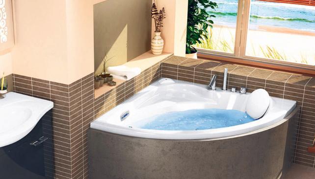 Baño Con Ducha Escocesa:Con espacio Las bañeras son apropiadas para sectores con espacios