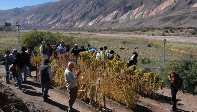 Parque Hídrico, el mejor escenario. En el marco de la Quebrada de Humahuaca se realizó el primer Seminario Latinoamericano de Agua de Calidad con Equidad Bibiana Fulchieri).