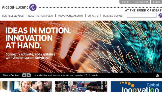 DESPIDOS. La firma presentó un plan de reestructuración que dice le permitirá mejorar sus ganancias netas en 1.250 millones de euros el año que viene (Captura web).