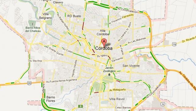 Mapa De Cordoba Capital.Cordoba Capital Mapa Google